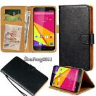 New Black Flip Cover Stand Wallet Leather Case For Various BLU Life SmartPhones