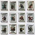 Games Workshop Warhammer 40k DATACARDS - NEW & SEALED
