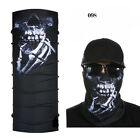 Fashion Man Skull Ghost Halloween Seamless Magic Headband Muffler Bandanas Scarf