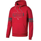 Puma Athletic Mens Pull Over Mens Hoodie Sweat Jumper Red 838337 09 CC95