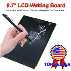 "US Fast Ship 9.7"" LCD Writing Board Paperless Writing Tablet For Chritsmas Gift"