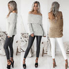 1 Pcs New Style Women Long Sleeve Loose Knitted Pullover Sweater Jumper Tops