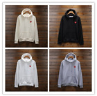 2018 New Unisex Men's Comme Des Garcons CDG Play Hoodie red heart Sweater Women