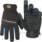 CLC Work Gloves Mens Flex Grip WorkRight Winter insulated Gloves #L123
