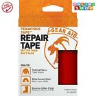 Gear Aid Tenacious Tape for Fabric Repair Red Tape Fixes Rips Holes Imported New