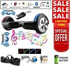 "6.5"" 2 WHEELS SELF BALANCING SCOOTER BALANCE BOARD BLUETOOTH +LED+REMOTE UK :"