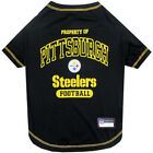 NFL Pittsburgh Steelers Premium Dog Pet Tee Shirt (All Sizes)