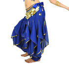 US Belly Dance Womens Fashion wave Harem Pants Tribal Baggy Arabic Pants Colors
