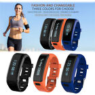 F1 Bluetooth Fitness Smart Wristband Bracelet Heart Rate Monitor for iOS Android
