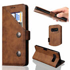 For Samsung Galaxy Note 8 NEW Retro Leather Magnetic Flip Card Wallet Case Cover