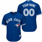 Customized Toronto Blue Jays Blue Gray White Red MLB Cool Base Jersey NWT