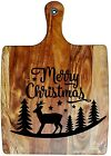 Engraved Painted & Bread/Chopping Board - Christmas Gift 12