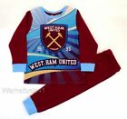 Boys pyjamas, pjs, nightwear WEST HAM UNITED football club - Ages  3 - 12 yrs