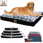 Five Sided Waterproof Large Dog Pet Cat Bed Mat Cushion Matterss Washable Cover