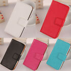 1X New Accessory Flip-Style PU Leather Case Cover Protection For ZTE Smartphone