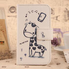 Lovely Flip Accessory PU Leather Case Cover Wallet Protector For BQ Smartphone