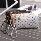 Women PU Leather  Painted Design  Hand Bag With Zero Purse Shoulder Bags