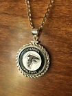 Kyпить STERLING SILVER ROPE PENDANT W/ NFL ATLANTA FALCONS b SETTING JEWELRY GIFT на еВаy.соm