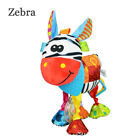 Multifunction Infant Animal Plush Toy baby Sound Paper and Teether Toy