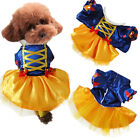 Pet Dog Cat Halloween Costume Funny Cute Dress Up Suit Christmas Party Clothes