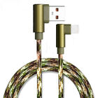 For Iphone 7 Plus Aluminium Alloy Camouflage Wire Charger Data Sync Usb Cable