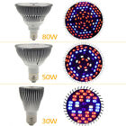 E27 Hydroponic Growing Lamp 30W 50W 80W LED Indoor Plant Grow Light Bulb New