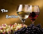Wine and Grapes Scene GLOSSY Photo Picture ** PERSONALIZED ** Wall Decor / Print