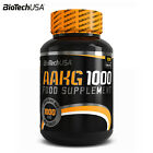 AAKG 1000 100 Tab. Nitric Oxide Booster Muscle Pump Hormone Stimulator & Release