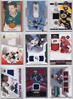 Jersey Game Used Low Numbered Cards - Choose From List Limited Upper Deck NHL