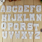Motif to 26 Letters Embroidery Iron On Patch Sewn For Clothing Applique Backpack