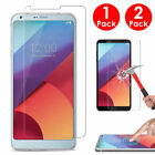 1/2 x Ultra-thin Clear Tempered Glass Screen Protector Protective Flim For LG G6