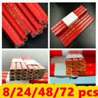 Carpenters Pencil Flat Thick Lead Refill Wood Marking Pencils Joiner Builder