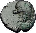 THYATEIRA in LYDIA 200BC Genuine  Authentic Ancient Greek Coin APOLLO AXE i64359