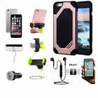 Case Car Holder Wireless Double Earphones Accessory For iPhone X 5 6 7 S 8 Plus