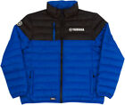 Factory Effex Licensed Yamaha Puffer Jacket Blue/Black Mens All Sizes