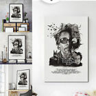 Home Famous Director Tim Burton Canvas Print Wall Hnaging Painting Office Decor