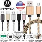 Micro USB Charging Phone Observations Sync Charger Cable For Motorola Moto G4 Play