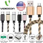 Micro USB Charging Phone Data Sync Charger Cable For Videocon Graphite 1 V45ED $2.29 USD