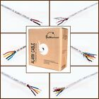Alarm Wire Cable 500ft 1000ft Solid Stranded CCA 18 22 AWG Shielded Unshielded
