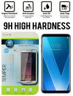 For LG V30 Premium 9H Hard Tempered Glass Screen Protector (Not Full Coverage)
