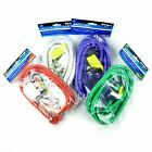 2 PACK BUNGEE STRAPS CORDS WITH HOOKS ELASTICATED ROPE CORD CAR BIKE LUGGAGE
