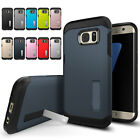 For Samsung Galaxy Note 4 Tough Hard Armor Rubber Phone Case Cover With Stand