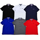 Tommy Hilfiger Mens Polo Shirt Classic Fit Interlock Embroidered Logo New Nwt