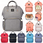 New Mummy Maternity Nappy Diaper Bag Large Capacity Baby Bag Travel Backpack