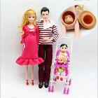 UK Best Gift Dolls Family Educational Real Pregnant Doll Happy Family for Barbie <br/> High Quality✔Non-Toxic✔Safety-Grade✔Environmental Prot
