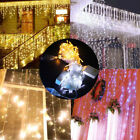 9.8ftx9.8ft 300 LED String Fairy Curtain Lights For Christmas Xmas Wedding Party