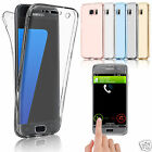 Shockproof 360° Silicone Protective Clear Case Cover For Samsung Galaxy& iPhone