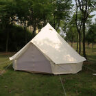 US Warehouse Available Waterproof 900D Oxford Bell Tent for Family Camping