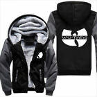 Hot New The Wu tang hiphop Coat Hoodie Winter Fleece Unisex Thicken Sweatshirts