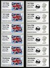Explosions Museum Kiosk A007 Post & Go Faststamp Machin & Flag Collector Strips